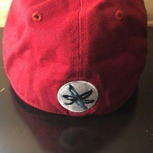 Ohio State University Accessories - Ohio State University Buckeyes Red Ballcap